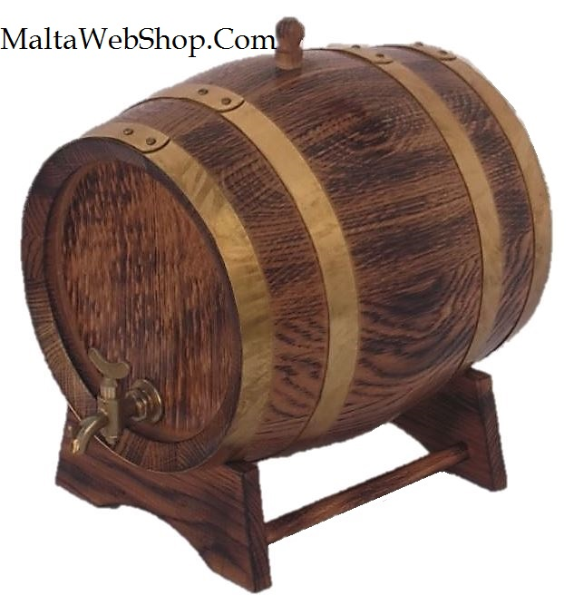 Small whiskey barrel, keg and cask, Malta
